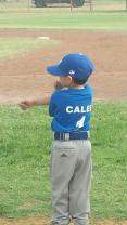 3rd Yr Tee Ball - Go Dodgers!