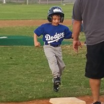 4th Yr Tee Ball - Go Dodgers!