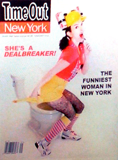 Liz Lemon Time Out New York cover