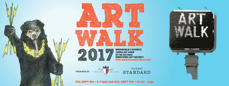 Come see me at Birmingham Artwalk this weekend!
