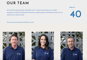 Team design