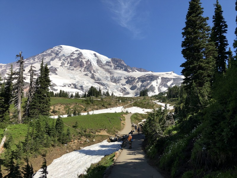 美國雷尼爾山國家公園 Mt Rainier National Park 令人流連忘返的雪山花海 Paradise