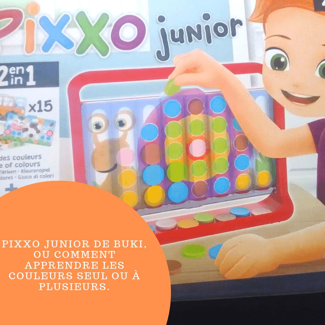 Pixxo Junior de BUKI, ou comment apprendre les couleurs seul ou à plusieurs.
