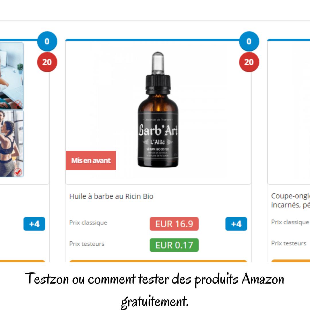 Testzon ou comment tester des produits Amazon gratuitement.