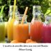 5 recettes de smoothie détox avec mon mini Blender Mixeur Koenig.