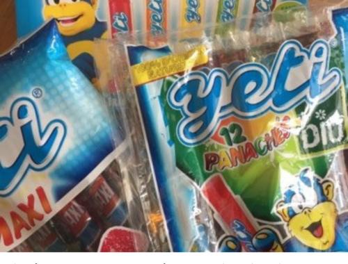 Yéti et ses glaces, mes alliés «fraîcheur healthy » pour cet été caniculaire.