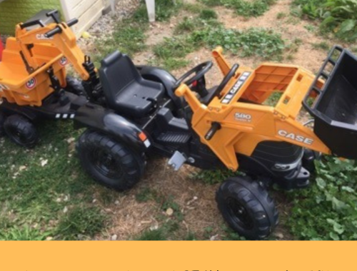 Le tracteur à pédales CASE IH Construction 580 Super N de Falk, que vaut-il ?