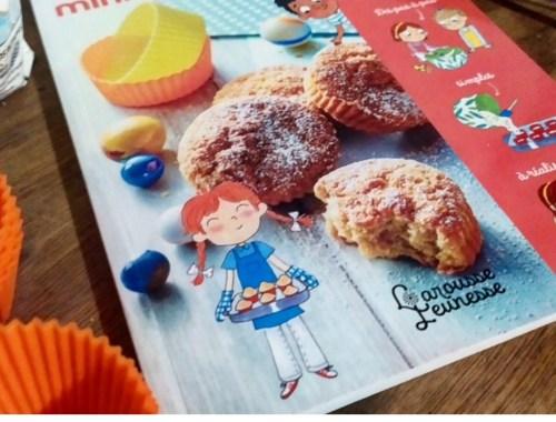 Trop facile les mini-gâteaux [mini fouet et 6 moules en silicone inclus]