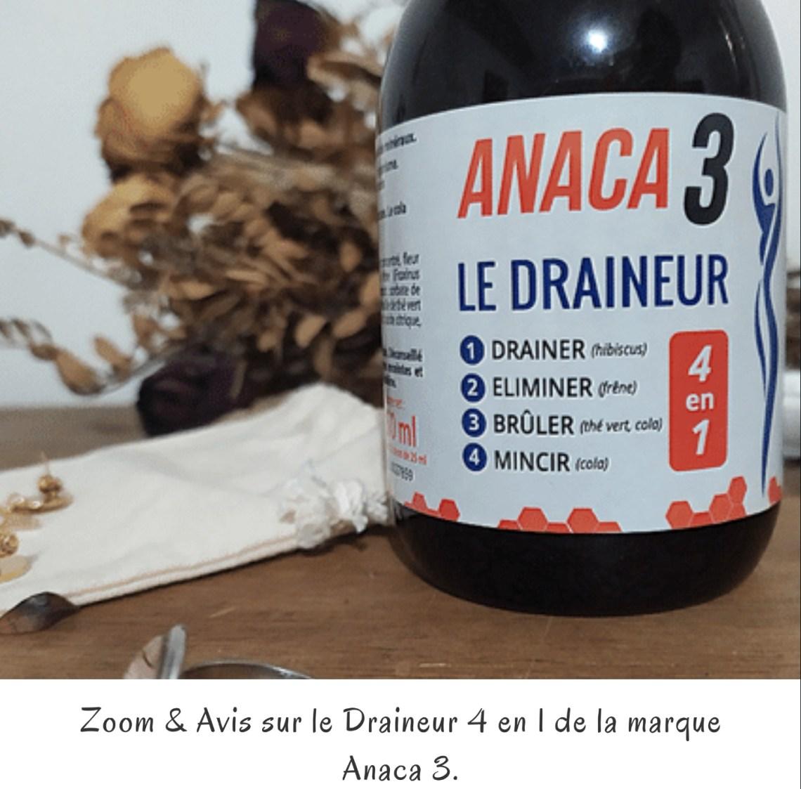 Zoom & Avis sur le Draineur 4 en 1 de la marque Anaca 3.
