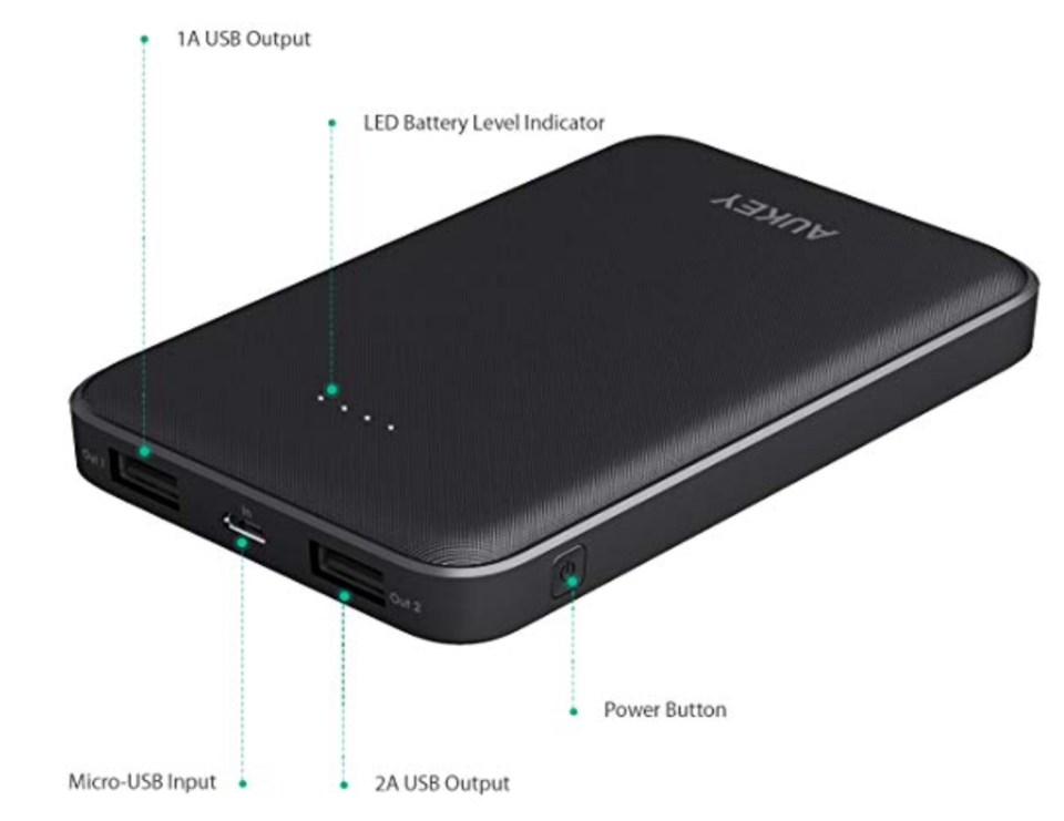 Que vaut la batterie externe Aukey PB-N50 10000mAh ?