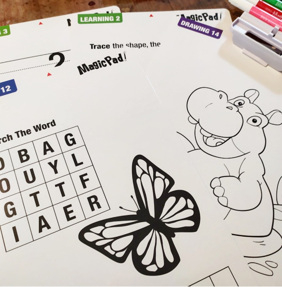 BEST OF TOYS : Le Magic Pad XL pour des dessins qui s'illuminent !