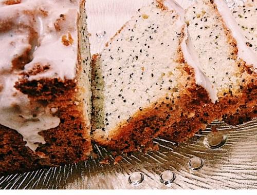 DESSERT : Recette facile du cake moelleux citron pavot.