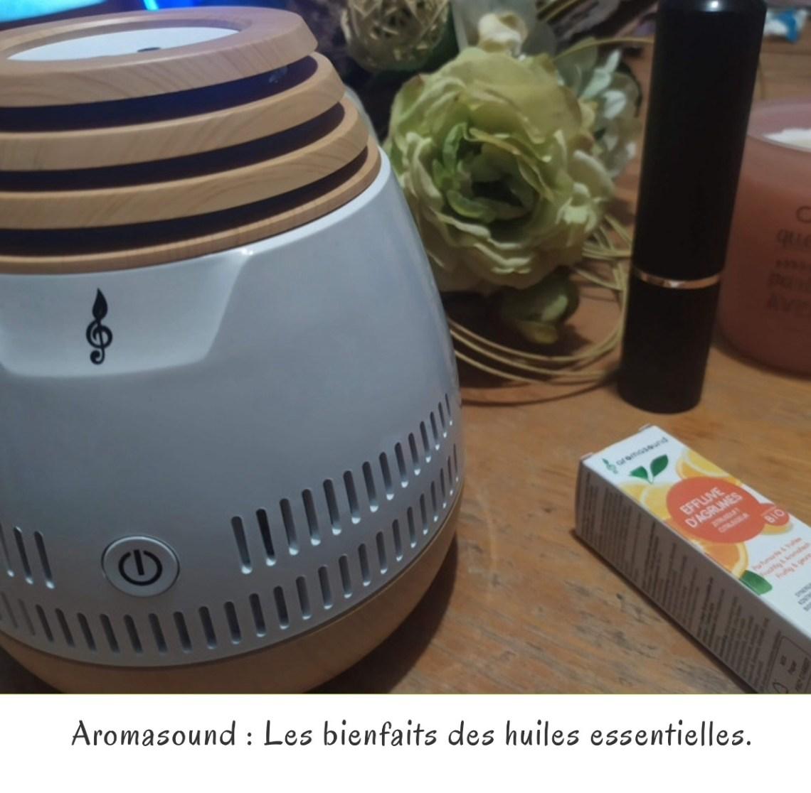 Aromasound : Les bienfaits des huiles essentielles.
