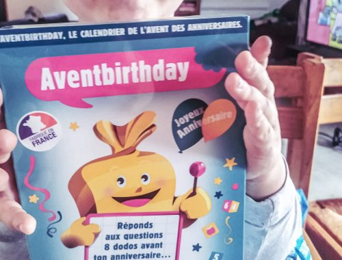 Avent birthday, l'art de faire patienter les enfants avant leur anniversaire.