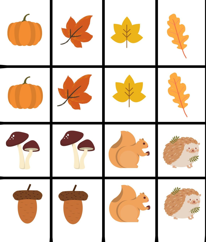 DIY : 4 idées d'activités manuelles autour de l'automne + mémo printable.
