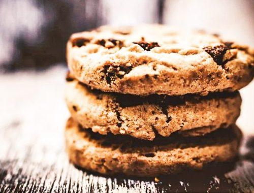 Healthy Food : Cookies aux pépites de chocolat sans beurre ni huile.