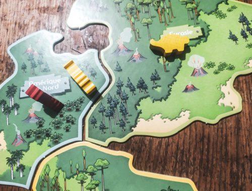 Zoom et avis sur le jeu Défi Nature Grand Jeu Dinosaures de Bioviva.