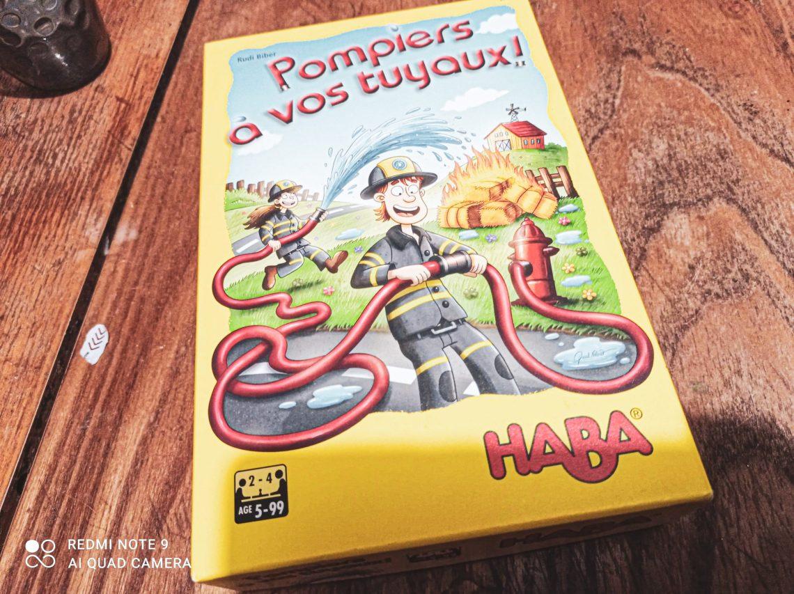 Pompiers à vos tuyaux, notre avis sur ce jeu édité par Haba.
