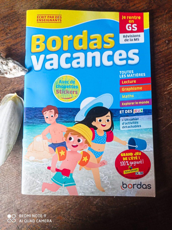 Les cahiers de vacances pour oucontre?