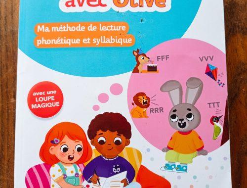 Notre avis sur le livre : J'apprends à lire avec Olive Éditions Bordas