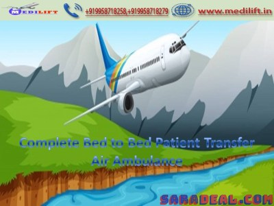 Rent the Hi-Tech Commercial Air Ambulance Service in Patna
