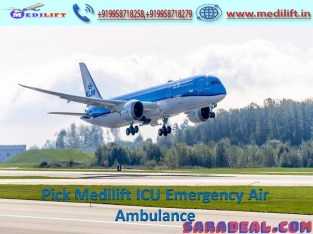 Use Medilift Very Low-Cost Air Ambulance from Ranchi