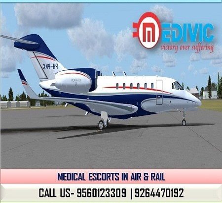 Take Appropriate ICU Care Charter Air Ambulance in Kolkata by Medivic