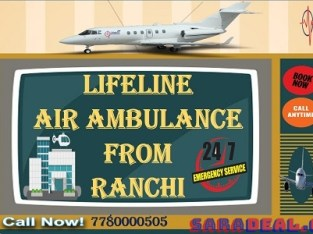 Lifeline Air Ambulance in Ranchi- Fix Appointments for Safely Patient Departure