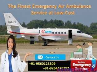 Get Trustable Emergency Care Air Ambulance in Ranchi by Medivic
