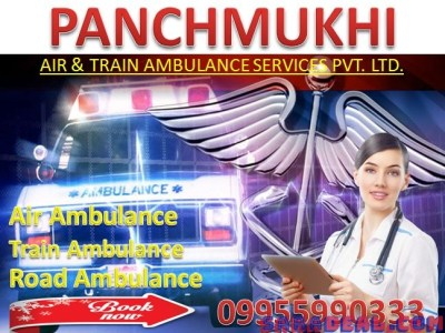 24 Hours ICU Air Ambulance in Raigarh by Panchmukhi
