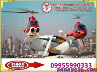 Take Off With Reliable Air Ambulance in Raipur by Panchmukhi
