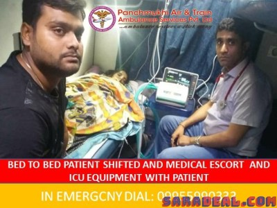 Best Medical Services in Panchmukhi Air Ambulance in Guwahati