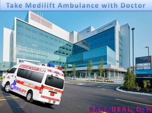 Road Ambulance Service in Muzaffarpur – Stay with the Medilift