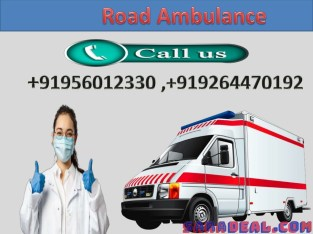 Medivic High Class Road Ambulance Service in Patna Available at Low Price