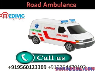 Life Sustaining Affordable Road Ambulance Service in Chutia by7 Medivic Ambulance