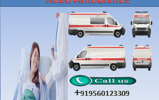 Hire Quick Medivic Road Ambulance Service in Kankarbagh