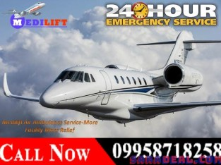 Get low-cost Medical Charter Air Ambulance Service in Guwahati – Medilift