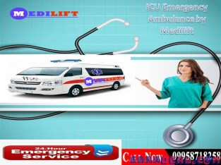 Save Patient's Life to Get Medilift Ambulance Service in Patna