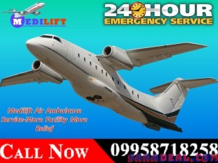 Get Amazing Charter Air Ambulance Service in Patna – Medilift