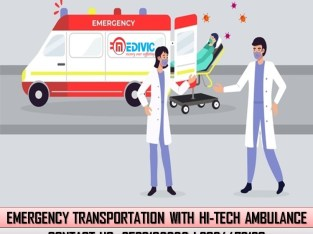Receive Most Valuable ICU Ambulance Service in Doranda by Medivic