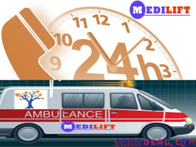 Easily Get Medilift Road Ambulance Service in Darbhanga