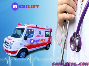 Required Medilift Ambulance Service in Kankarbagh Patna at Low Fare