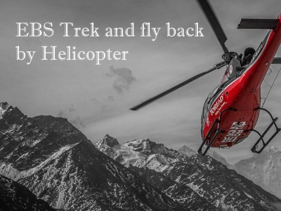 EBC Trek and Fly back by Helicopter
