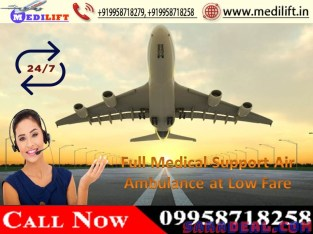 Better Life-Support Medilift Air Ambulance Service in Patna
