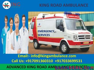 King Ambulance service in Sitamarhi with Doctor Facility