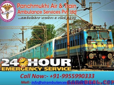 Get Reliable and Low Cost Train Ambulance from Patna to Mumbai – Panchmukhi