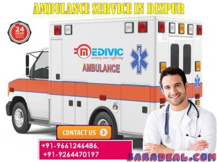 Safe Ambulance Services in Disrup, Assam by Medivic Ambulance Services