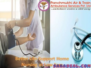 Take the Home Nursing Service in Buxar from Panchmukhi at a Reasonable Price