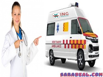 King Road Ambulance Service in Kumhartoli, Ranchi