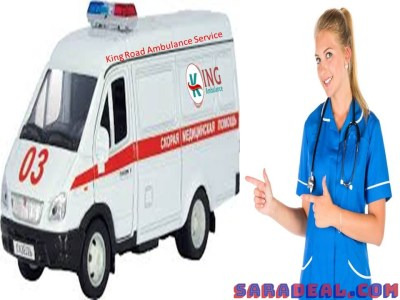 King Road Ambulance Service in Kusai, Ranchi with Medical Team